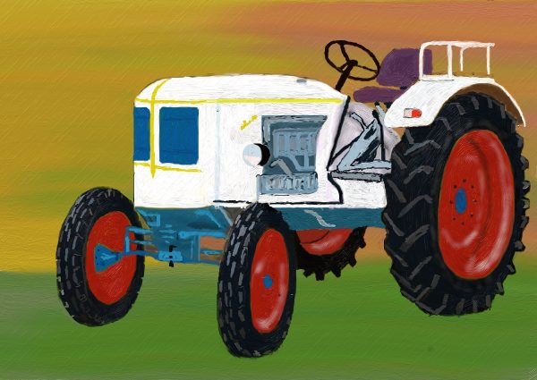 evolucion de la maquinaria agricola