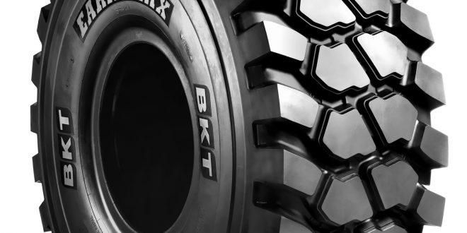 Gama de neumáticos #BKT para palas cargadoras utilizadas en aplicaciones otr