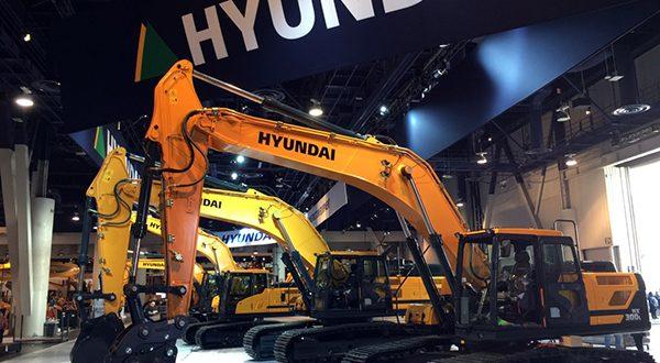 #Hyundai Heavy Industries  en #Conexpo
