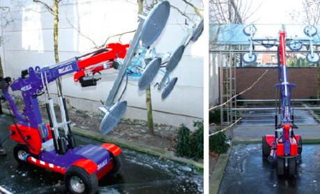 #SpainCrane en #Smopyc con el Robot Cristalero KS600 Offroad