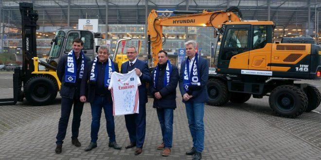 HYUNDAI CONSTRUCTION EQUIPMENT socio del club de fútbol de primera división HSV GO