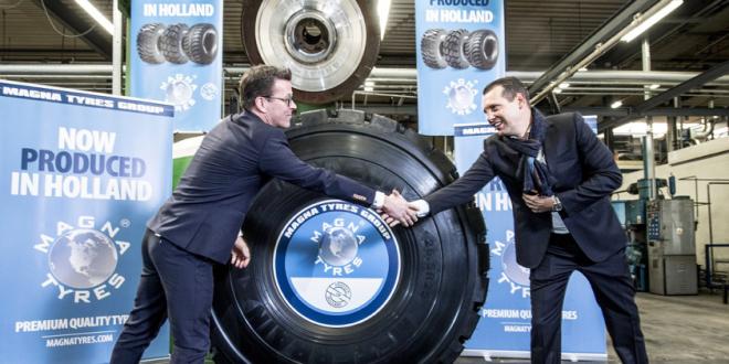 Exitosa reapertura de la fábrica OBO Tyres