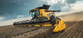 New Holland amplía la serie de cosechadoras CR Revelation
