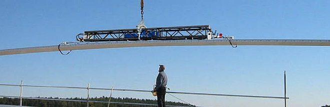 Spain Crane nos presenta la nueva ventosa de paneles