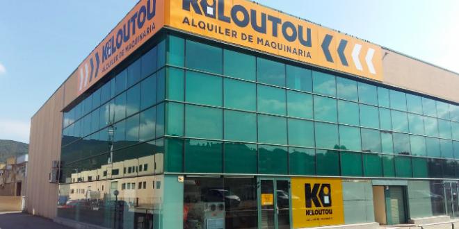 Nueva sede en Barcelona de Kiloutou España