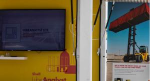 Lubricantes Shell para camiones Hyster en el Hyster Rhine Tour