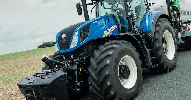 New Holland introduce un sistema de freno inteligente de remolque patentado en sus tractores T7 y T6