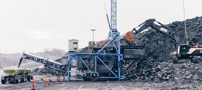 Las emisiones de carbono se reducen en un 98% en Volvo Construction Equipment