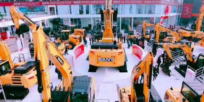 Sany Group celebró con éxito una cumbre mundial en Bauma China
