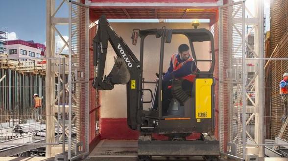 VOLVO CE lanza una nueva generación de miniexcavadoras
