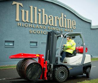 Crown la mejor opción para la destilería Tullibardine
