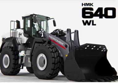 La cargadora de ruedas HIDROMEK HMK 640WL premiada