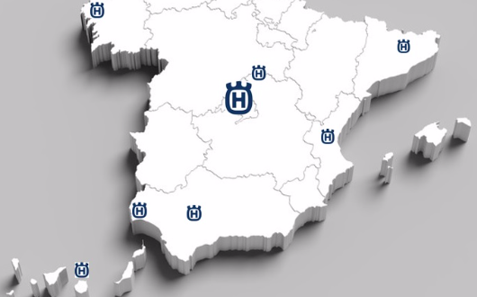 Husqvarna España fortalece su servicio postventa