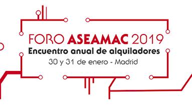 Últimos días para inscribirse al Foro ASEAMAC 2019