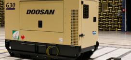 Los generadores G20 y G30 de Doosan se exponen en Bauma2019