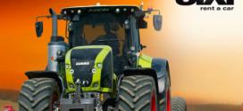 Sixt lanza su servicio de alquiler de tractores Claas