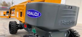 COALCI recibe una plataforma articulada Haulotte HA26RTJPRO