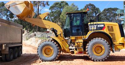 Actualización de las cargadoras de ruedas medianas de la serie M de Cat®