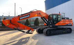 Próxima generación de excavadoras sobre orugas de tamaño medio Doosan en Bauma