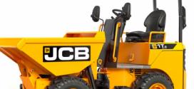 JCB lanza un nuevo dumper de 1 tonelada