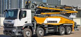 Liebherr presenta en Bauma el nuevo camión-bomba de hormigón 42 M5 XXT