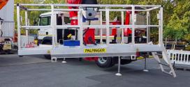 Palfinger presenta la cesta de trabajo telescópico