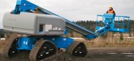 La plataforma Genie S-65 TraX™ con capacidades Xtra Capacity en Bauma