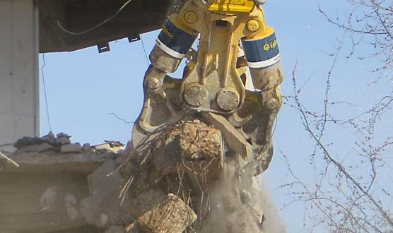 Epiroc presenta novedades en demolición, reciclaje y excavación en Bauma 2019