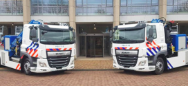 Cuatro grúas Fassi para la policía holandesa