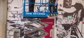 La nueva plataforma de tijera eléctrica Genie GS™-1330m en Bauma