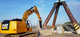 Nuevos martillos hidráulicos silenciados de montaje superior de la serie Cat® GC S