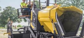 Volvo presenta las pavimentadoras más compactas de la gama