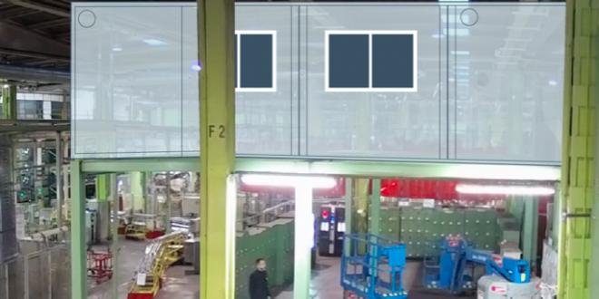 140m2 de módulos prefabricados ALCO montados en 3 días