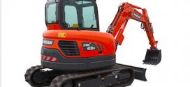 Doosan presenta las nuevas versiones de las miniexcavadoras DX62R-3 y DX63-3