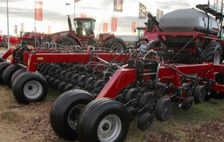 Case IH presentó su primera sembradora para el mercado argentino