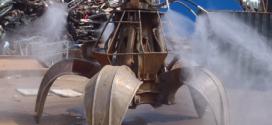 Spraystream mitiga el polvo en plantas de reciclaje, minas o demolición
