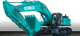 KOBELCO lanza su excavadora más grande en Europa