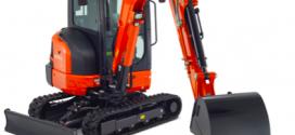 Kubota anuncia el lanzamiento de la miniexcavadora KX037-4