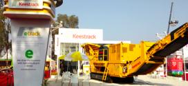 Keestrack, participó en Bauma Conexpo India 2018