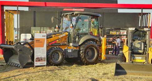 CASE CE exhibió su oferta de productos para el campo en Expoagro