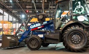 La retroexcavadora de Case Accessibility 580N pisó fuerte en Bauma 2019