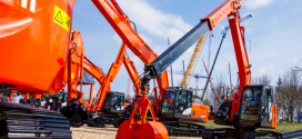 Cuatro máquinas de aplicaciones especiales de Hitachi en Bauma