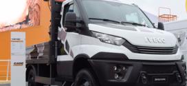 IVECO presentó sus vehículos para labores en la industria de la construcción en Bauma 2019