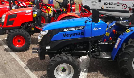 Los tractores Kioti y Solis en la feria de Zamora -Raíces