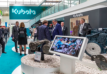 Kubota, presenta una gama de nuevas soluciones de motores