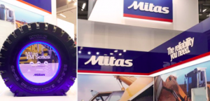 Mitas presenta sus neumáticos EM en Bauma