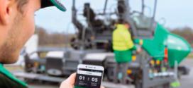 VÖGELE AG presenta su nueva aplicación basada en software para la construcción de carreteras