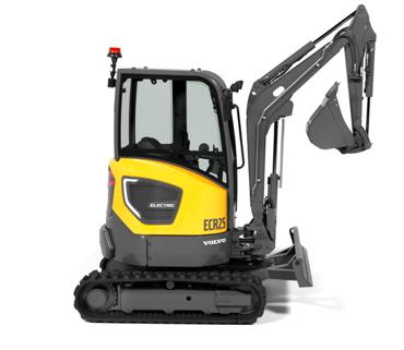 Volvo Construction Equipment ha presentado dos máquinas de cero emisiones