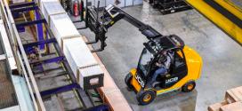 Las ventajas de la JCB Teletruk llegan al sector de la logística