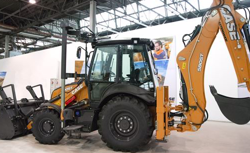 CASE Construction Equipments lanza un prototipo de retrocargadora adaptada en Bauma 2019